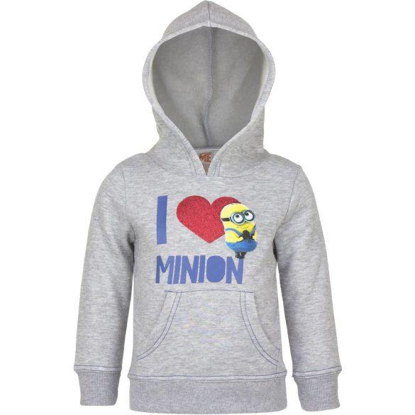Minions kapucnis pulóver