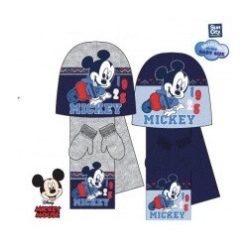 Mickey Baba sapka + sál + kesztyű szett