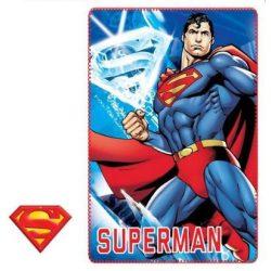 Superman polár takakaró 100*150cm