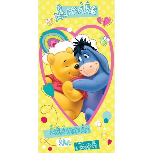 Disney Winnie the Pooh, Micimackó fürdőlepedő, strand törölköző 70*140cm