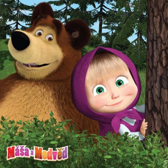 Masha and the Bear párnahuzat 40*40 cm