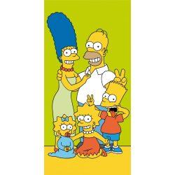 The Simpsons, A Simpson család fürdőlepedő, strand törölköző 70*140cm