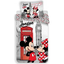Ágyneműhuzat Disney Minnie 140×200cm, 70×90 cm