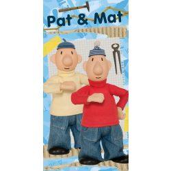 Pat and Mat, Kétbalkezesek fürdőlepedő, strand törölköző 70*140cm
