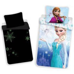 Sötétben világító ágyneműhuzat Disney Frozen, Jégvarázs 140×200cm