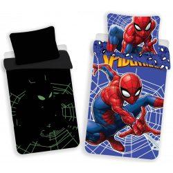 Sötétben világító ágyneműhuzat Spiderman, Pókember 140×200cm