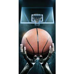Basketball, Kosárlabda fürdőlepedő, strand törölköző 70*140cm