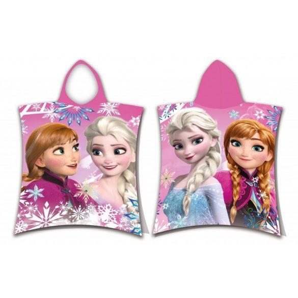 Disney Frozen, Jégvarázs strand törölköző poncsó  Anyaga: 100% pamut. Méretek 50*115cm.