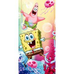 SpongeBob, SpongyaBob fürdőlepedő, strand törölköző 70*140cm