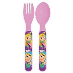 Evőeszköz készlet - 2 darabos Disney Princess, Hercegnők