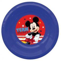 Disney Mickey mélytányér, műanyag 3D