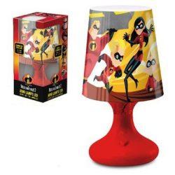 Mini LED Lámpa Disney The Incredibles, A Hihetetlen család