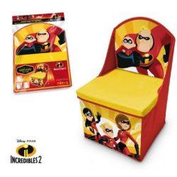 Játéktároló Disney The Incredibles, A Hihetetlen család