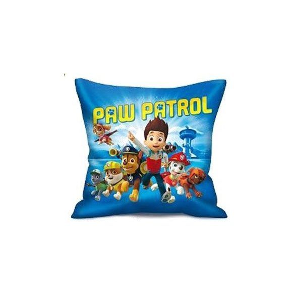 Paw Patrol, Mancs Őrjárat párna, díszpárna 35*35 cm