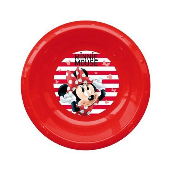 Disney Minnie mintás mélytányér.