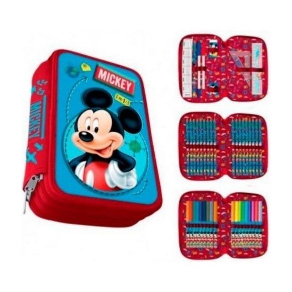 Disney Mickey tolltartó töltött 3 emeletes