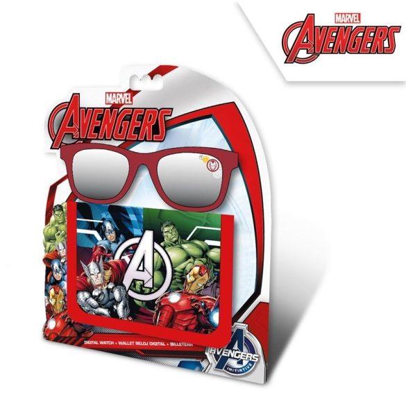 Bosszúállók, Avengers pénztárca + napszemüveg