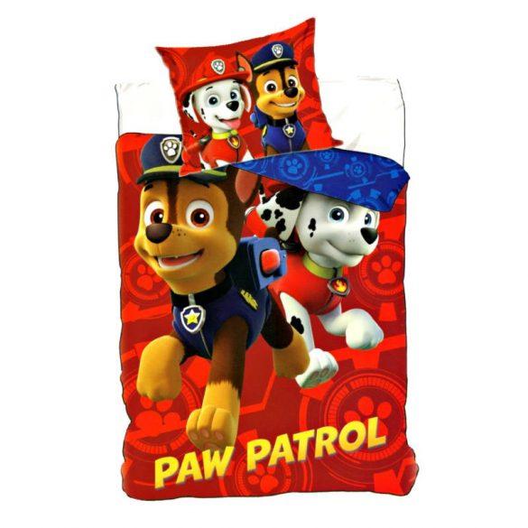 Paw Patrol, Mancs Őrjárat ágyneműhuzat 155x200cm, 50x80cm