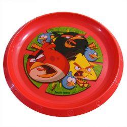 Angry Birds műanyag lapostányér