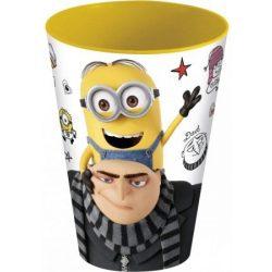 Minions pohár, műanyag 430 ml
