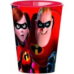 Disney The Incredibles, A Hihetetlen család pohár, műanyag 260 ml