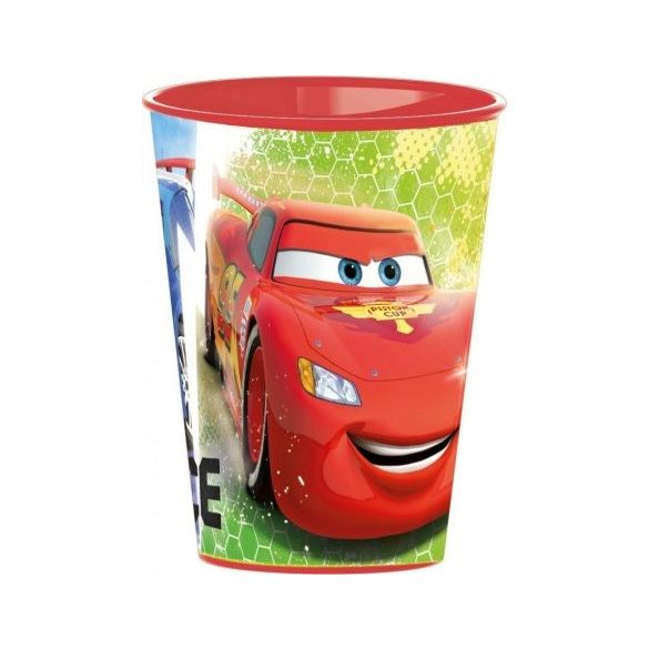 Disney Cars, Verdák pohár, műanyag 260 ml