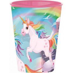 Unicorn, Unikornis pohár, műanyag 260 ml