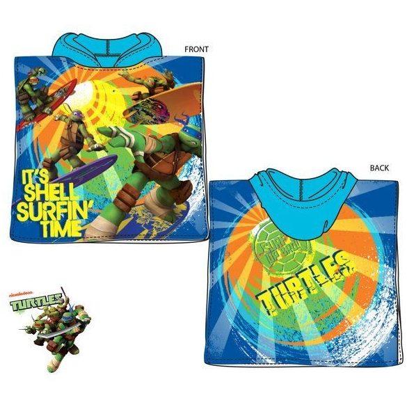 Ninja Turtles strand törölköző poncsó 50*100cm