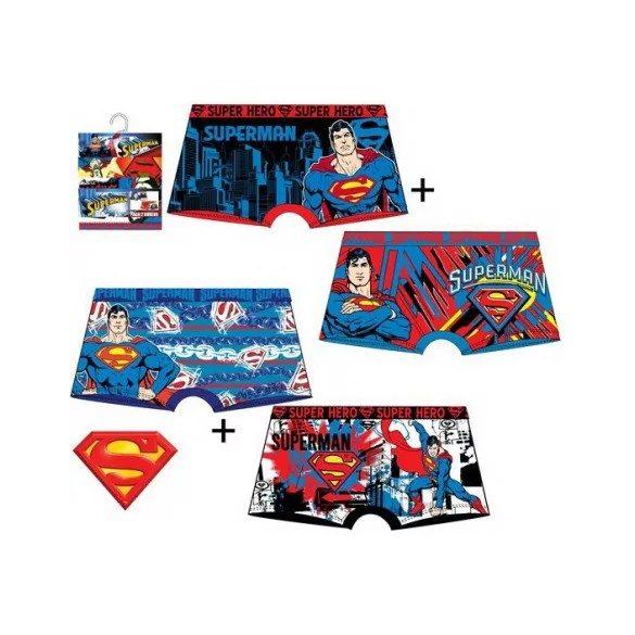Superman gyerek boxer szett/2 db
