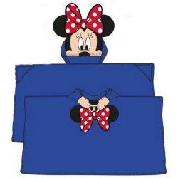 Plüss kapucnis takaró poncsó Disney Minnie 80*120cm