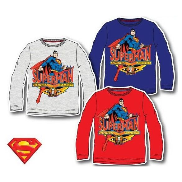 Superman Gyerek hosszú ujjú póló, felső