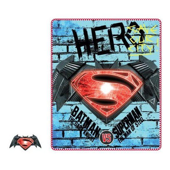 Polár takaró Batman vs. Superman 120*140cm