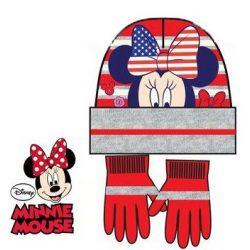 Disney Minnie Gyerek sapka + kesztyű szett