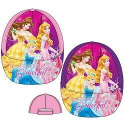 Disney Princess, Hercegnők gyerek baseball sapka 52-54cm