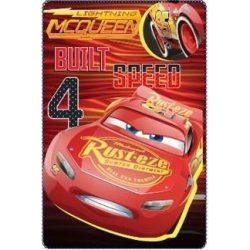 Polár takaró Disney Cars, Verdák 100*150cm