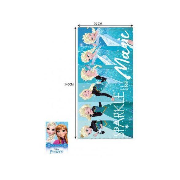 Disney Frozen Jégvarázs fürdőlepedő, strand törölköző 70*140cm (Fast Dry)