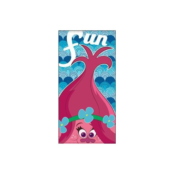 Trolls, Trollok fürdőlepedő, strand törölköző 70*140cm (Fast Dry)