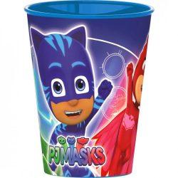 Pizsihősök pohár, műanyag 260 ml