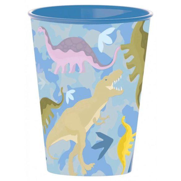 Dinoszaurusz pohár, műanyag 260 ml