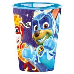 Mancs Őrjárat pohár, műanyag 260 ml