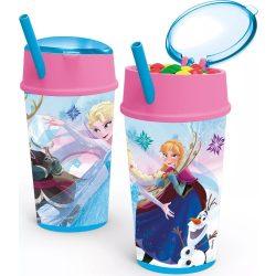 Disney Jégvarázs Üdítő- és snack tartó pohár 400 ml