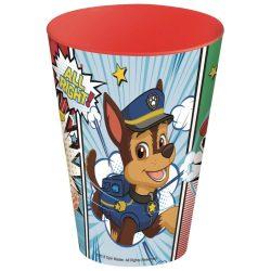 Mancs Őrjárat pohár, műanyag 430 ml