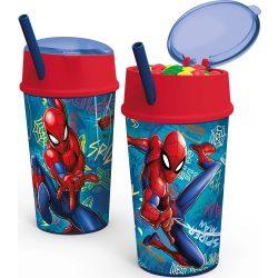 Pókember Üdítő- és snack tartó pohár 400 ml