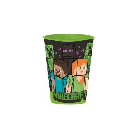 Minecraft pohár, műanyag 260 ml