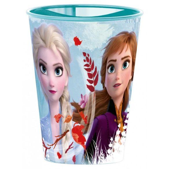 Disney Jégvarázs pohár, műanyag 260 ml