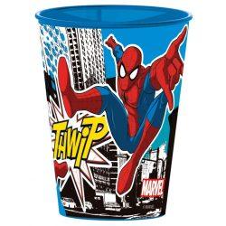 Pókember pohár, műanyag 260 ml