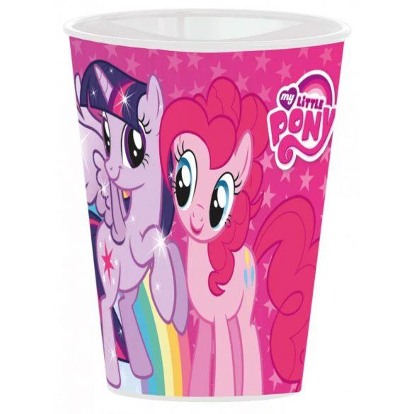 Én kicsi pónim, My Little Pony pohár, műanyag 260 ml