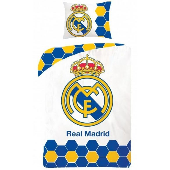 Ágyneműhuzat Real Madrid 140×200cm, 70×90 cm