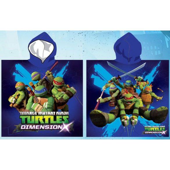 Ninja Turtles strand törölköző poncsó 55*110cm