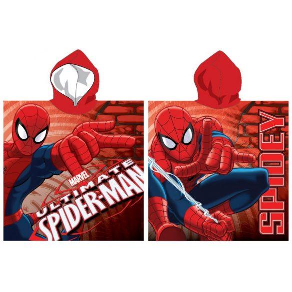 Spiderman, Pókember strand törölköző poncsó 55*110cm